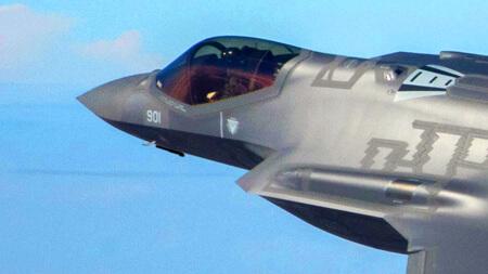 Novo avião de combate para Israel