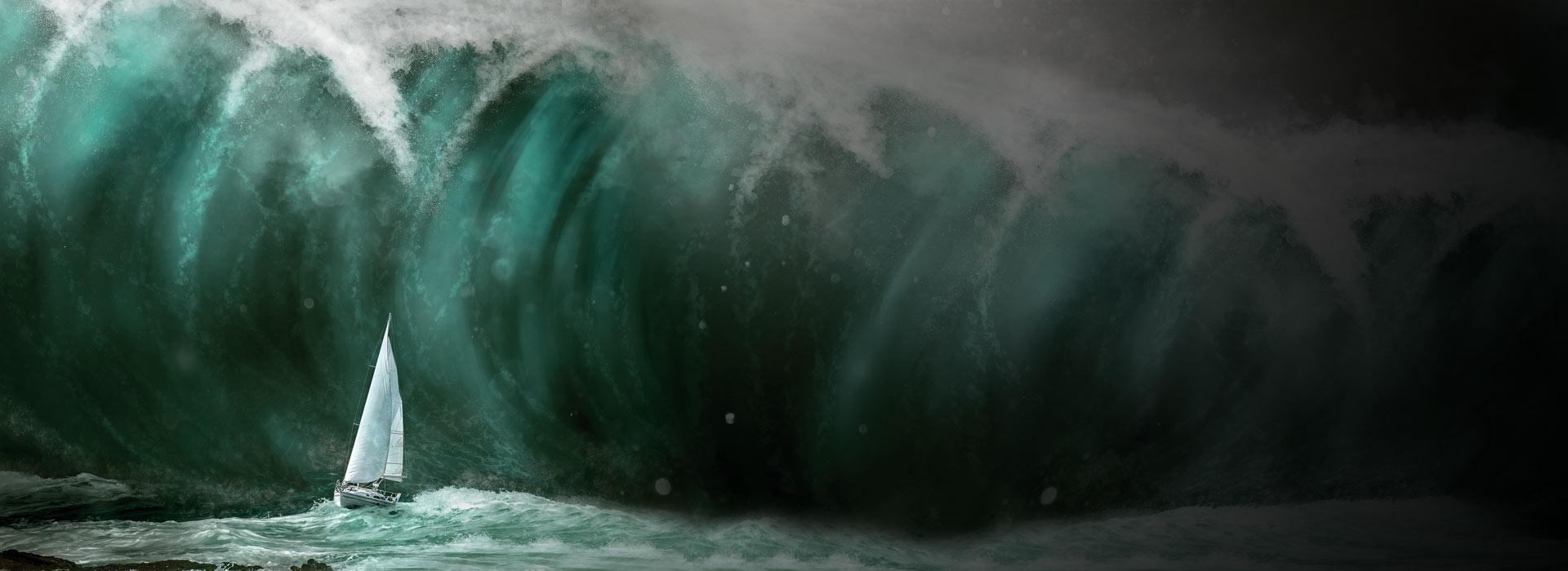 Como viver neste mundo tempestuoso?