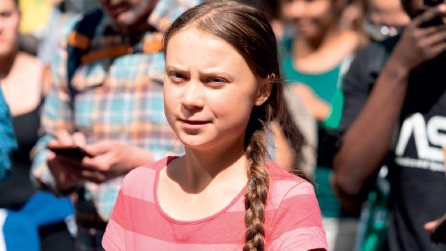 """A """"santa"""" Greta e a religião climática"""