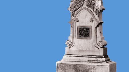 Lápides e suas inscrições