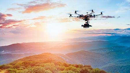 Drones protetores de aves