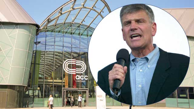 Franklin Graham é expulso de Liverpool